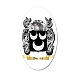 Harries 20x12 Oval Wall Decal