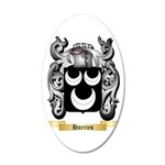 Harries 35x21 Oval Wall Decal