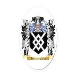 Harraughton Oval Car Magnet