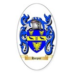Harpur Sticker (Oval 50 pk)