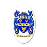 Harpour 35x21 Oval Wall Decal