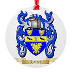 Harper Round Ornament