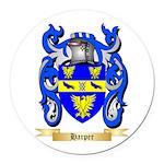 Harper Round Car Magnet