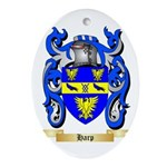 Harp Ornament (Oval)