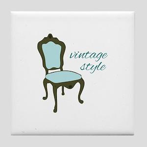 Vintage Style Tile Coaster