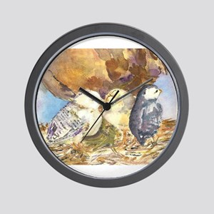 Three little chicks Wall Clock