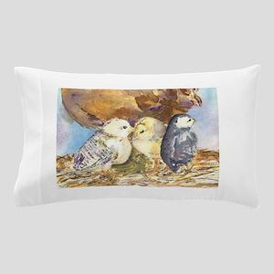 Three little chicks Pillow Case