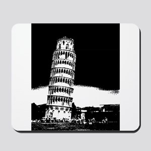Leaning Tower Mousepad