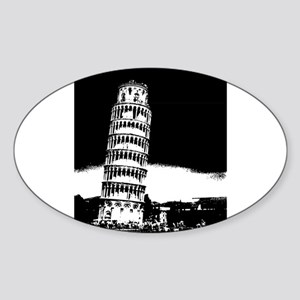 Leaning Tower Sticker