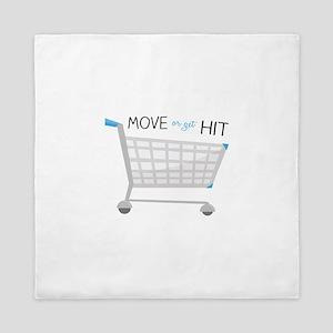 Move Or Get It Queen Duvet