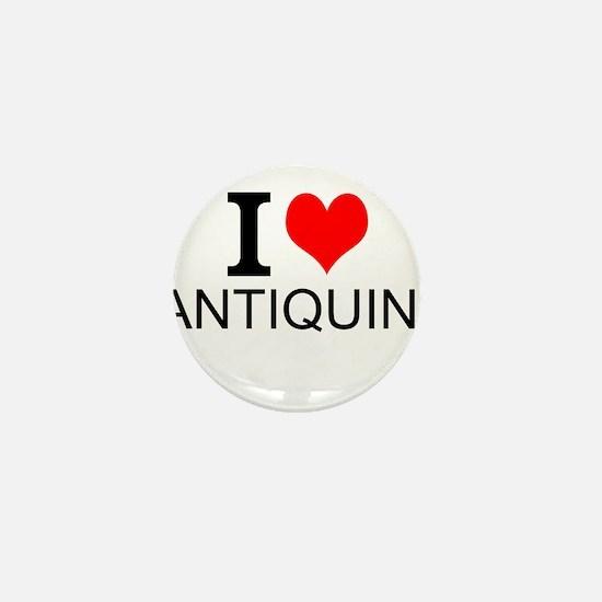 I Love Antiquing Mini Button