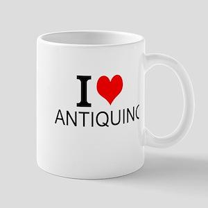 I Love Antiquing Mugs