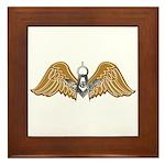 Masonic Wings Framed Tile