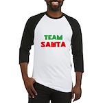 Team Santa Baseball Jersey