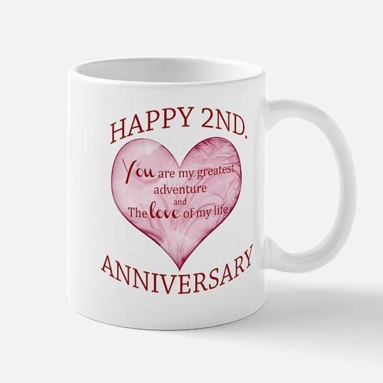 2nd Anniversary Mug