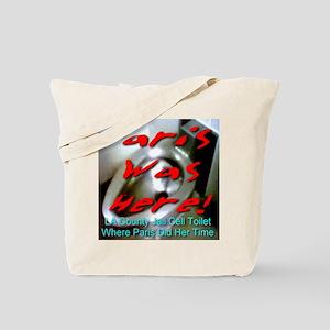 Paris Was Here Tote Bag