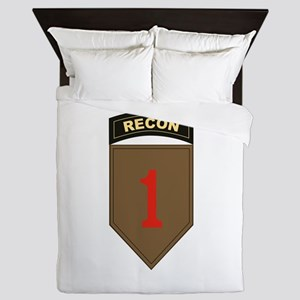 1st ID Recon Queen Duvet