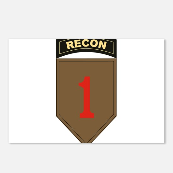 1st ID Recon.png Postcards (Package of 8)