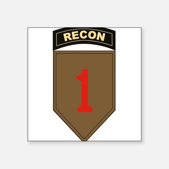 1st ID Recon Sticker