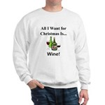 Christmas Wine Sweatshirt