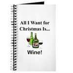 Christmas Wine Journal