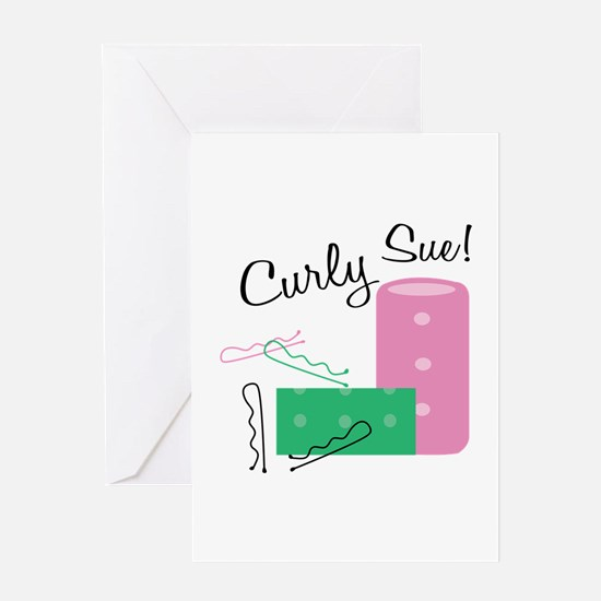 Curly Sue Greeting Cards