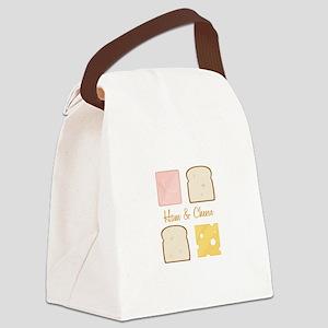 Ham & Cheese Canvas Lunch Bag
