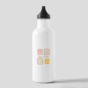 Ham & Cheese Water Bottle