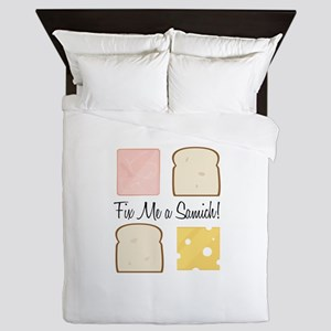 Fix A Samich Queen Duvet