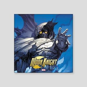 "Moon Knight Square Sticker 3"" x 3"""