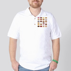 Many Donuts Golf Shirt