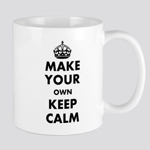 Make Your Own Keep Calm and Carry On De Mug