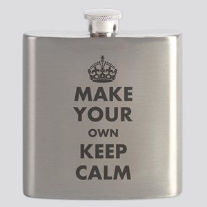 Make Your Own Keep Calm and Carry On Design Flask