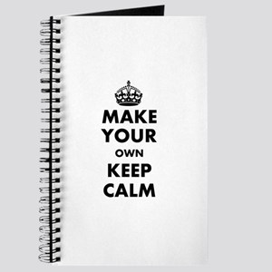 Make Your Own Keep Calm and Carry On Desig Journal
