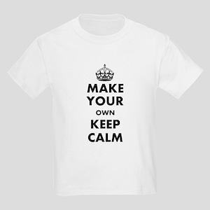 Make Your Own Keep Calm and Car Kids Light T-Shirt