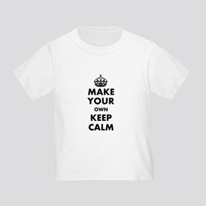 Make Your Own Keep Calm and Carry Toddler T-Shirt