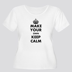 Make Your Own Women's Plus Size Scoop Neck T-Shirt