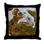 Taneycomo Sculpin in thin water Throw Pillow