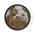 Taneycomo Sculpin in thin water Wall Clock