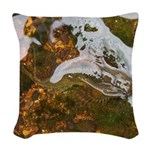 Taneycomo Sculpin in thin water Woven Throw Pillow