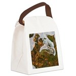 Taneycomo Sculpin in thin water Canvas Lunch Bag