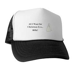 Christmas Wife Trucker Hat