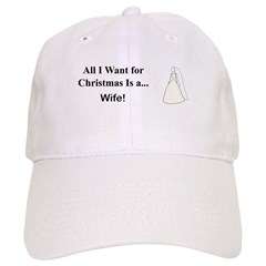 Christmas Wife Baseball Cap
