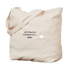 Christmas Wife Tote Bag