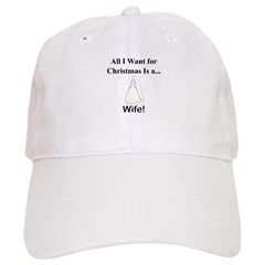 Christmas Wife Baseball Cap