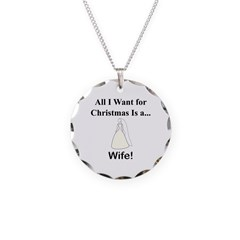 Christmas Wife Necklace