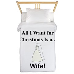 Christmas Wife Twin Duvet