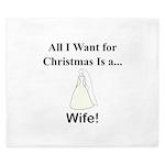 Christmas Wife King Duvet