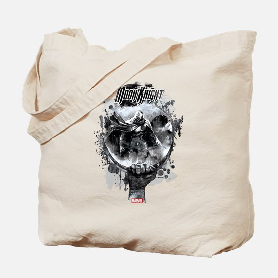 Moon Knight Grunge Tote Bag