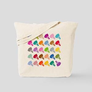 Colorful BadmintonShuttles Tote Bag